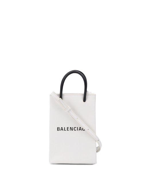 Balenciaga ショッピング フォンホルダーバッグ Multicolor