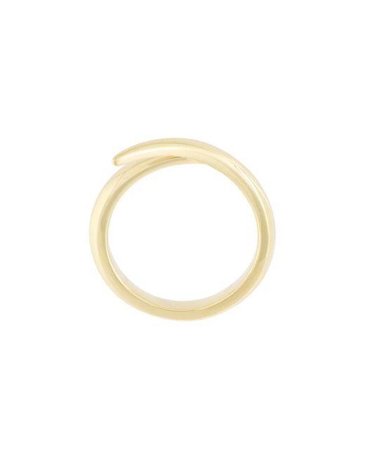 Shaun Leane - Metallic 18kt Yellow Gold 'interlocking' Ring - Lyst