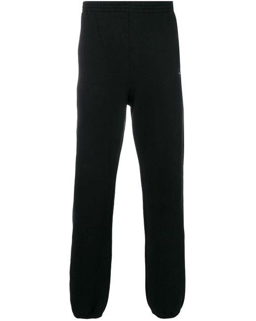 メンズ Balenciaga ロゴ スウェットパンツ Black