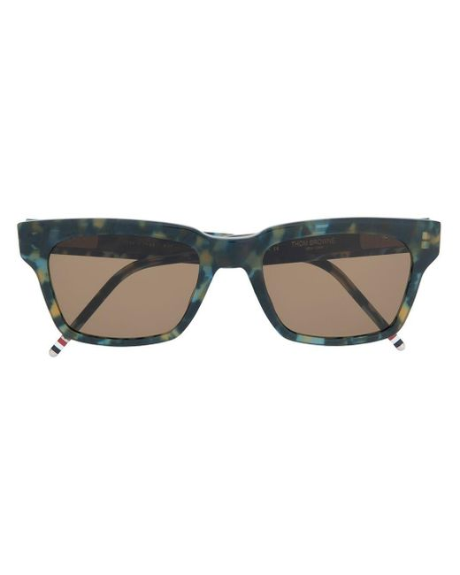 Thom Browne Tortoise Sunglasses Blue