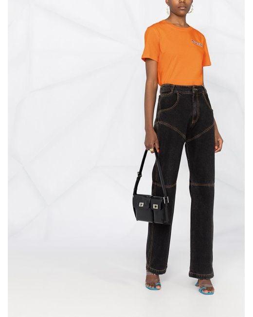 Moschino ロゴ Tシャツ Orange