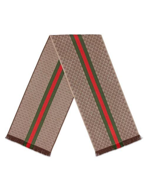 Gucci GG ニットスカーフ Multicolor