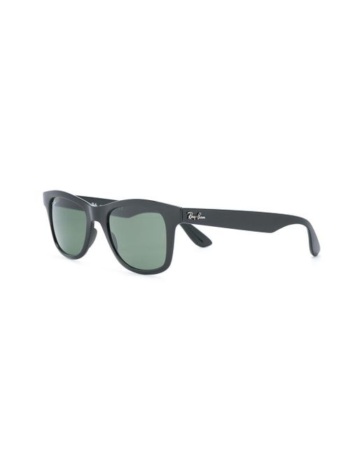 Солнцезащитные Очки В Прямоугольной Оправе Ray-Ban, цвет: Black