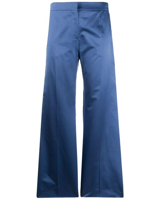 Valentino テーラード ワイドパンツ Blue