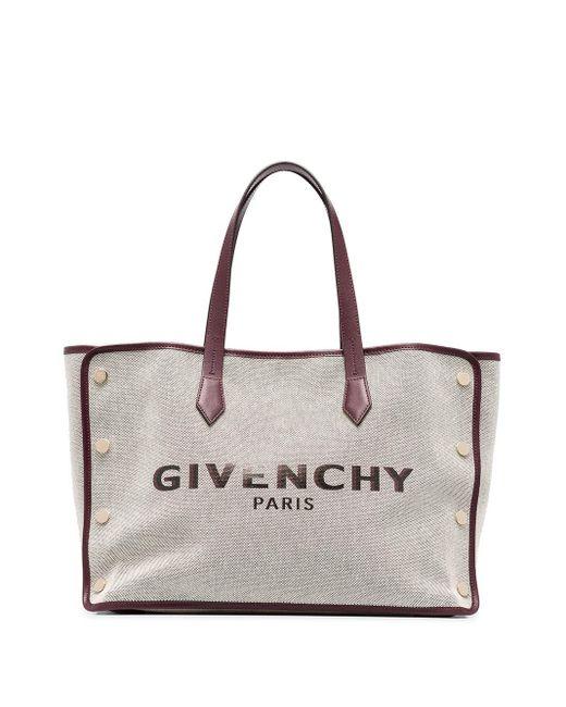 Givenchy オフホワイト ミディアム ボンド ショッパー トート Multicolor
