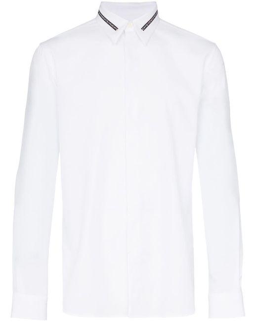メンズ Givenchy ロゴ シャツ White