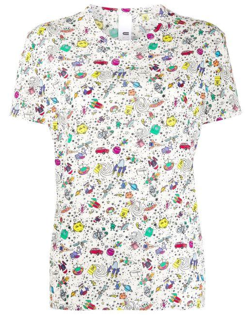 Ultrachic プリント Tシャツ Multicolor