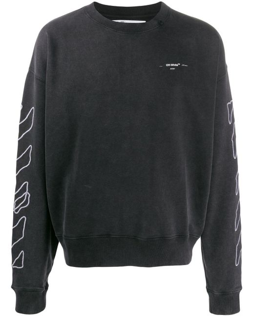 メンズ Off-White c/o Virgil Abloh Arrows スウェットシャツ Black
