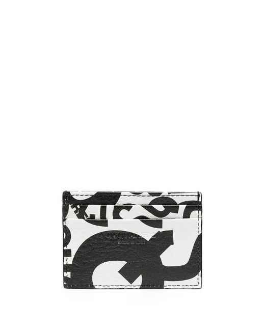 Porte-cartes à logo imprimé DSquared² pour homme en coloris Black