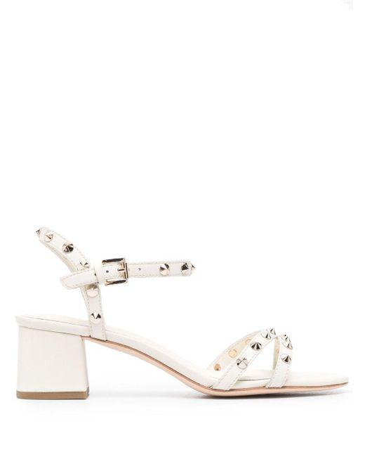 Ash White Rikki 60mm Sandals