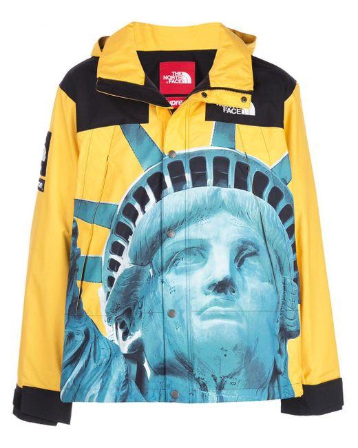 メンズ Supreme X The North Face ジャケット Yellow