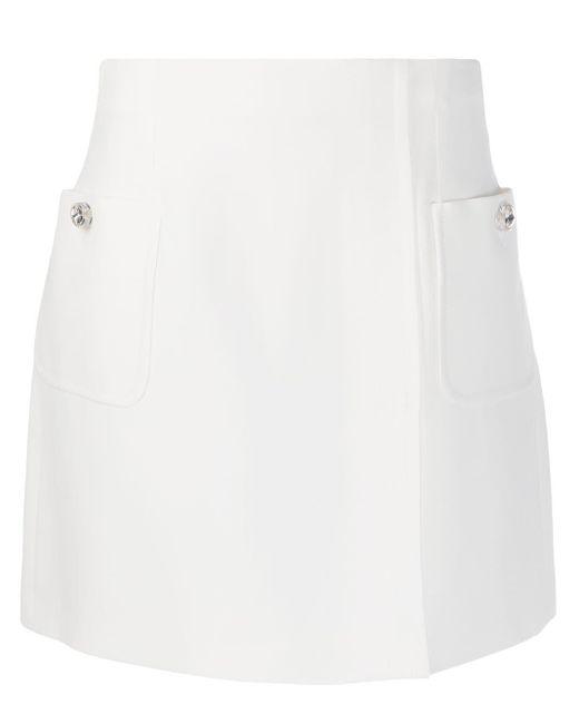 N°21 テーラード スカート White