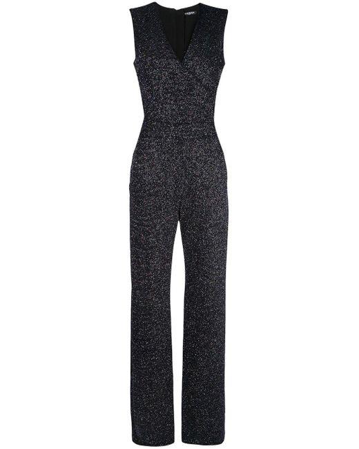 Balmain フレア ジャンプスーツ Black