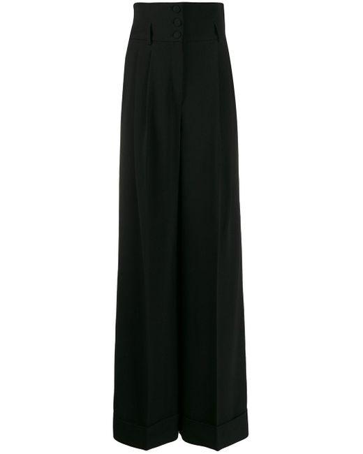 Dolce & Gabbana ハイウエスト テーラードパンツ Black