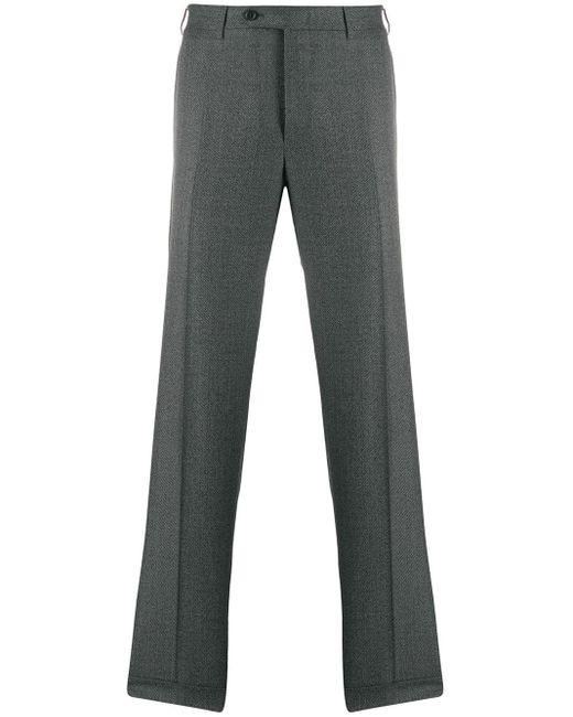 メンズ Canali ストレートパンツ Gray