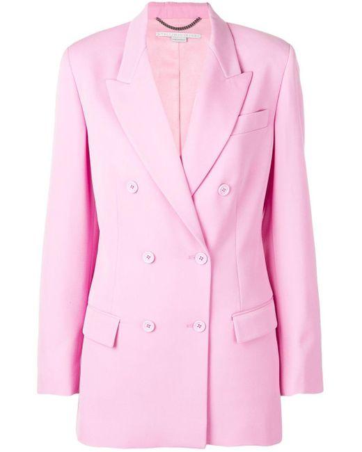 Stella McCartney ダブル ジャケット Pink