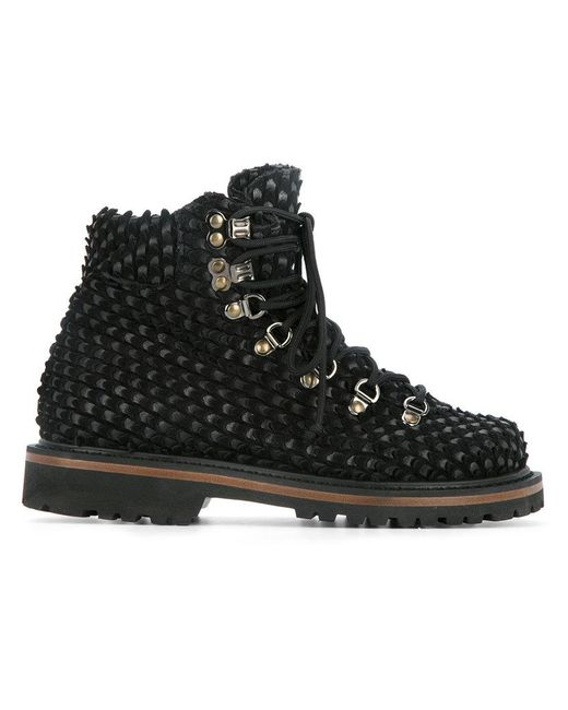 c17bd509836f Peter Non - Black Arctic Mountain Boots - Lyst ...