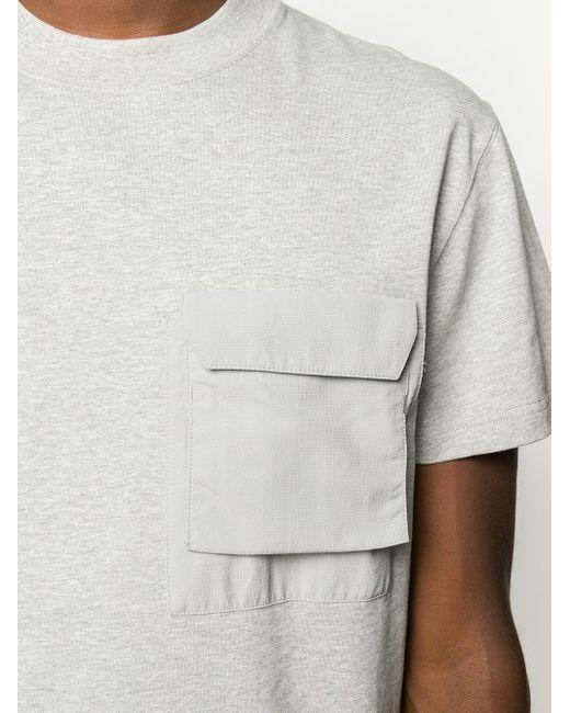 Soulland T-Shirt mit aufgesetzter Tasche in Multicolor für Herren