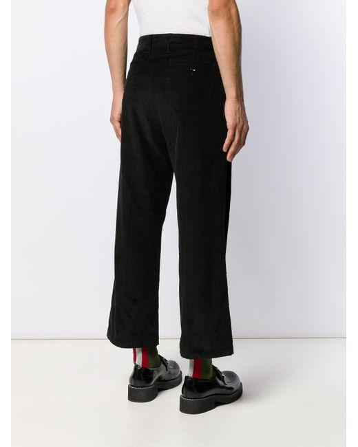 メンズ Marni ストレートパンツ Black