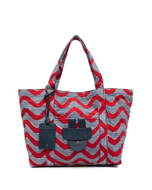 Tila March Simple ハンドバッグ L Red