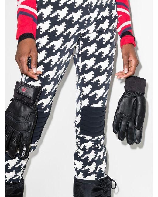 Дутые Лыжные Перчатки Perfect Moment, цвет: Black