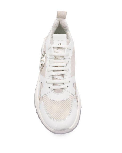 Кроссовки Для Бега Philipp Plein, цвет: White