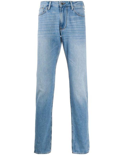 メンズ Emporio Armani スリムパンツ Blue