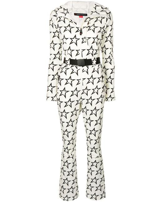 Perfect Moment - White Star Suit Jumpsuit - Lyst