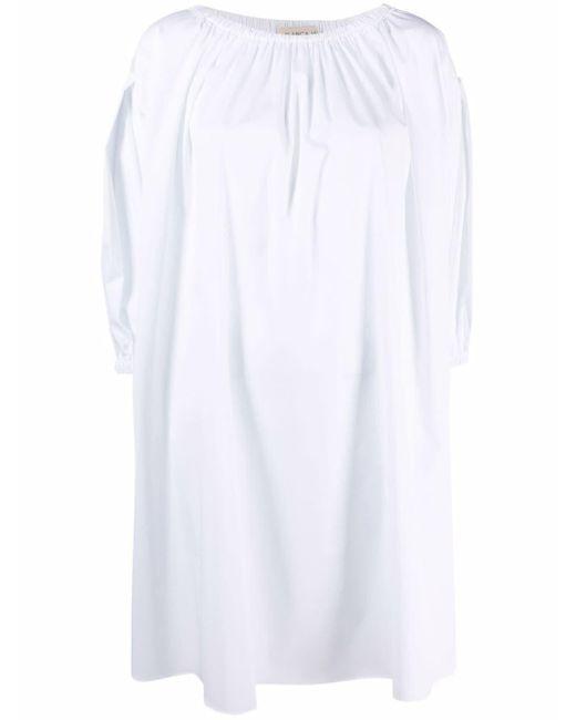 Blanca Vita シフトドレス White