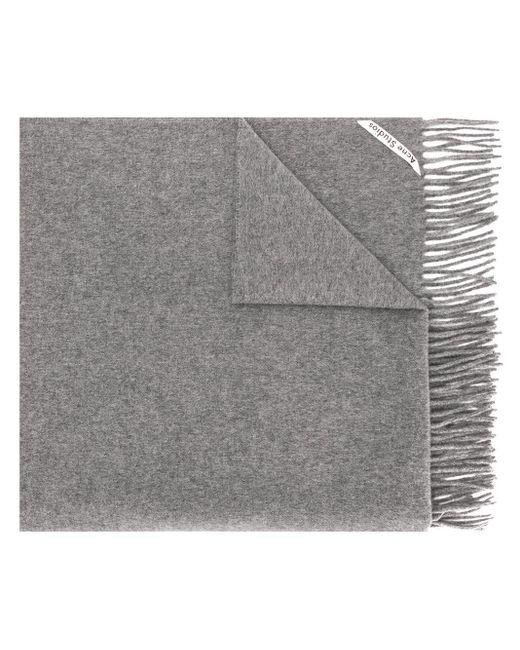 Acne Canada New スカーフ Gray
