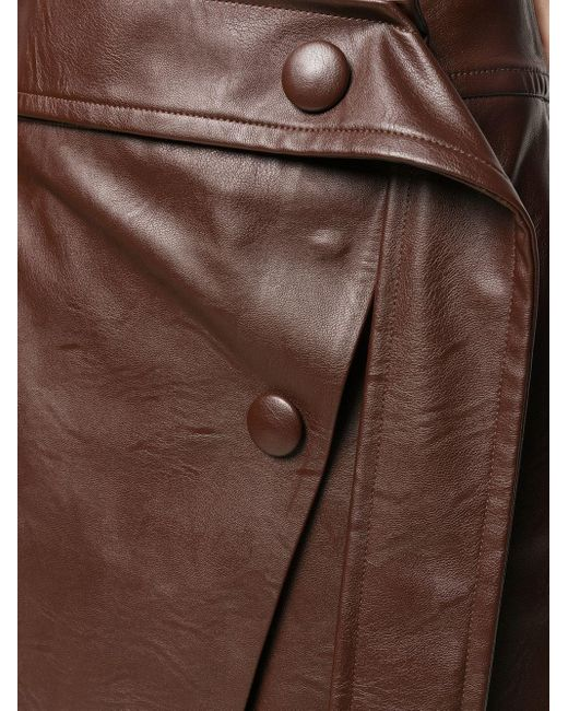 Юбка А-силуэта Stella McCartney, цвет: Brown