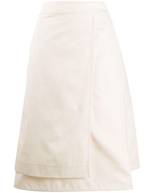 Jil Sander レイヤード スカート Multicolor