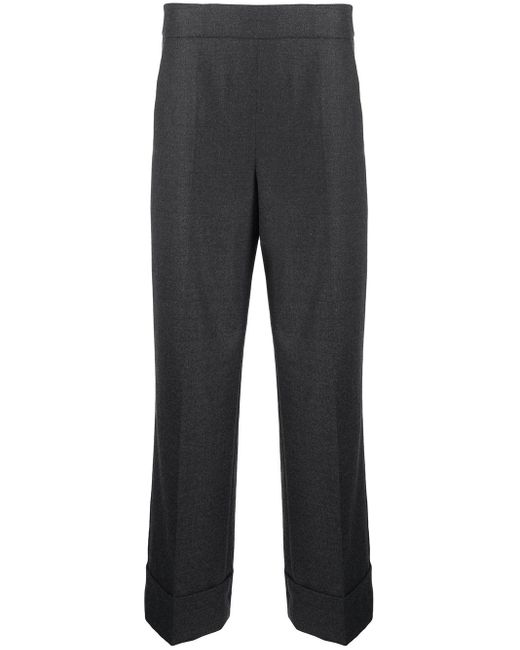Incotex センタープレス パンツ Gray