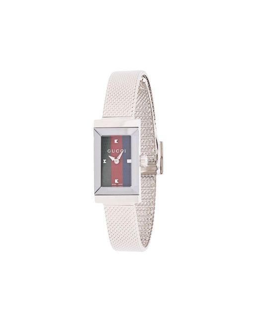 Gucci G-フレーム 腕時計 Metallic