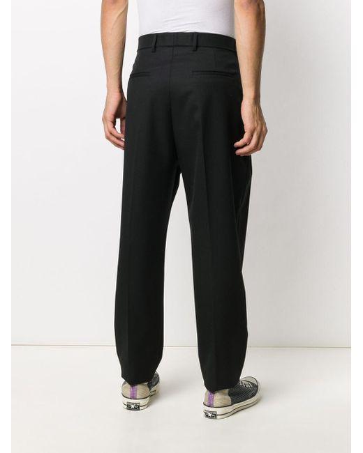 メンズ MSGM テーラード パンツ Black