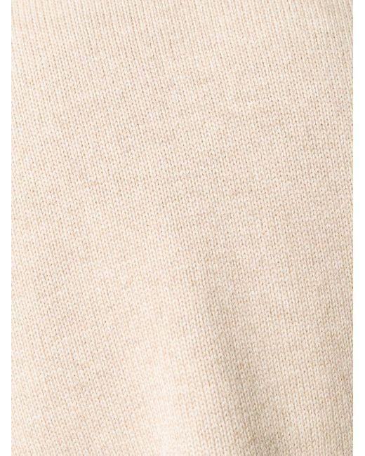 Свитер С Высоким Воротником Brunello Cucinelli для него, цвет: Natural