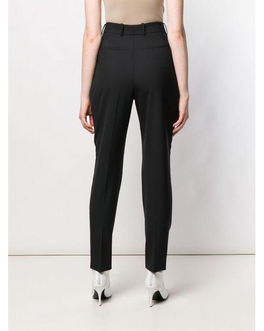 Givenchy プリーツ ハイウエストパンツ Black