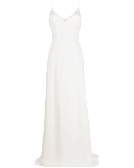 Emilio Pucci ビーズディテール ドレス White