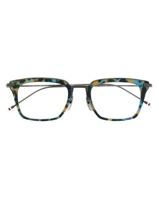 Thom Browne トータスシェル 眼鏡フレーム Blue