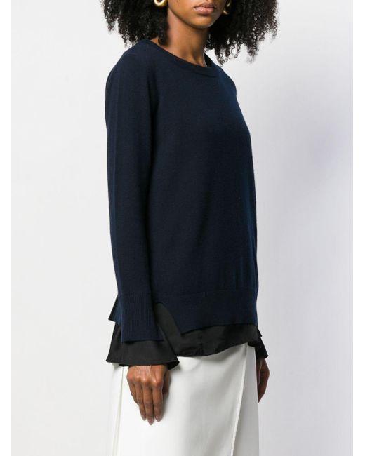 Dondup レイヤード セーター Blue