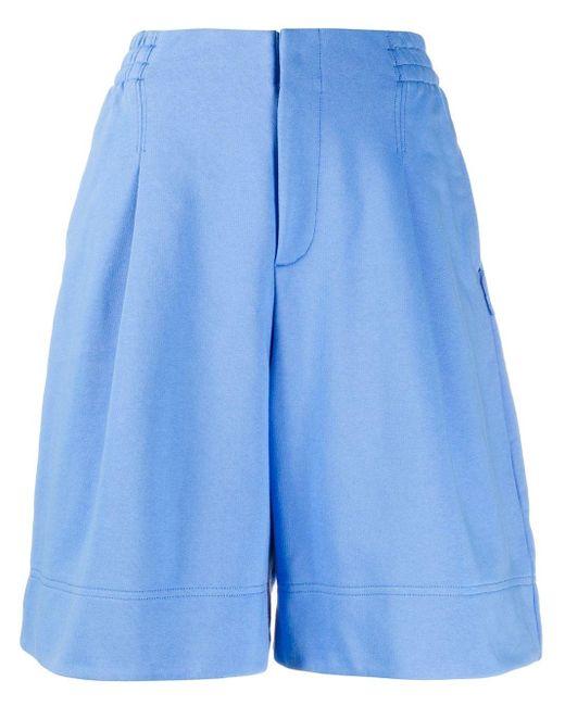 Y-3 Cl オーバーサイズ ショートパンツ Blue