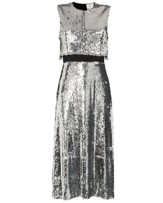 Stella McCartney スパンコール ドレス Metallic