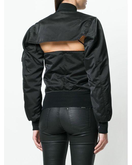 Unravel Project ボンバージャケット Black