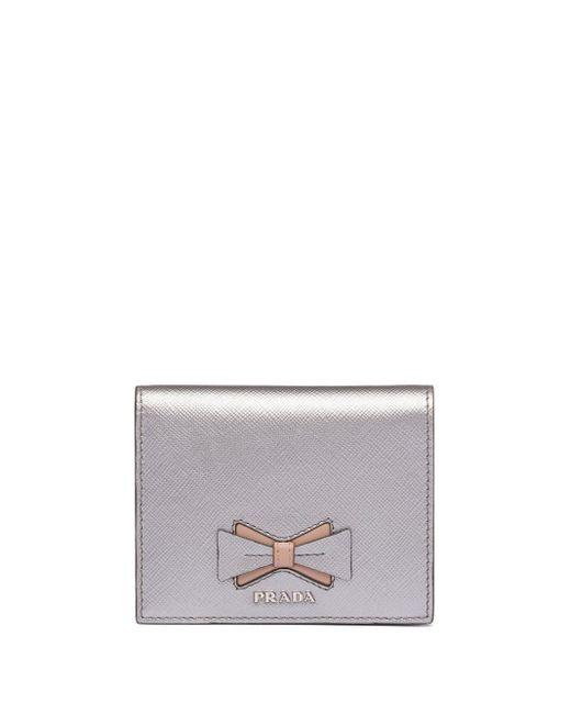 Prada サフィアーノ 財布 Metallic