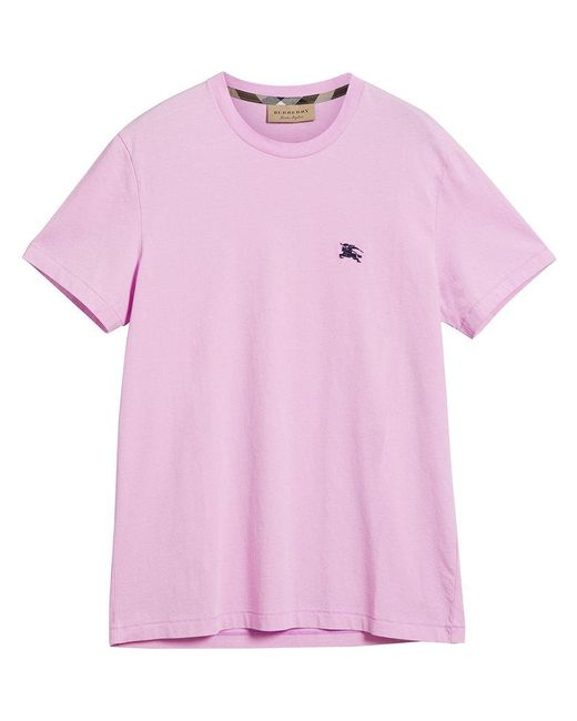 Burberry - Multicolor Classic Logo T-shirt for Men - Lyst
