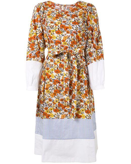 Tory Burch フローラル ドレス Multicolor