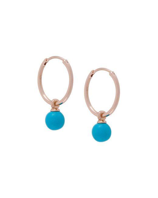 Astley Clarke - Metallic Vera Drop Hoop Earrings - Lyst