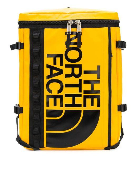 The North Face Rucksack mit Logo-Print in Yellow für Herren