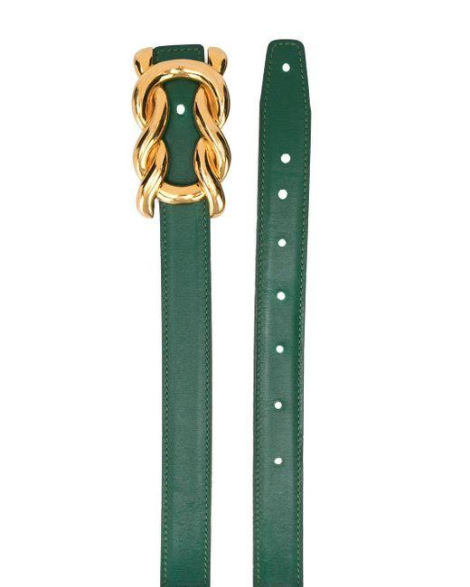 Ремень 1990-х Годов Pre-owned Hermès, цвет: Green