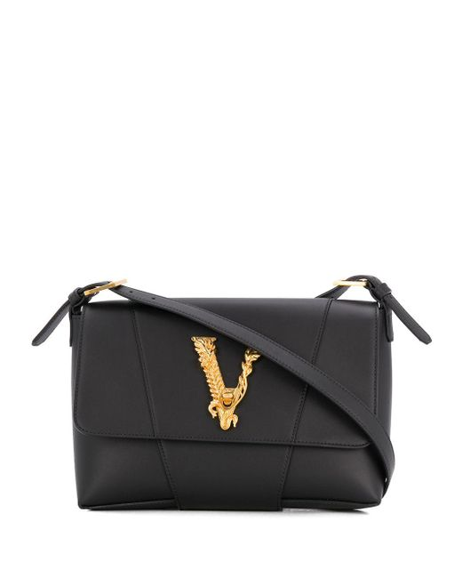 Versace Virtus ショルダーバッグ Black